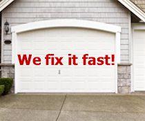 Garage Door Fixe and Repaired